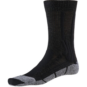 X-Socks Trek Silver Socks Damer, opal black/dolomite grey melange